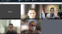 Menparekraf Sandiaga Uno saat Virtual Media Briefing